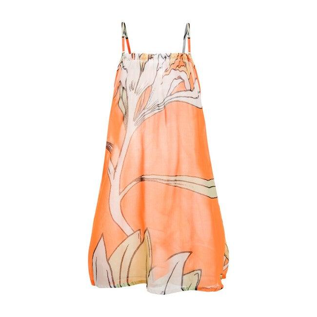 Oli Cover Up Dress, Le Fleurs Mint & Orange