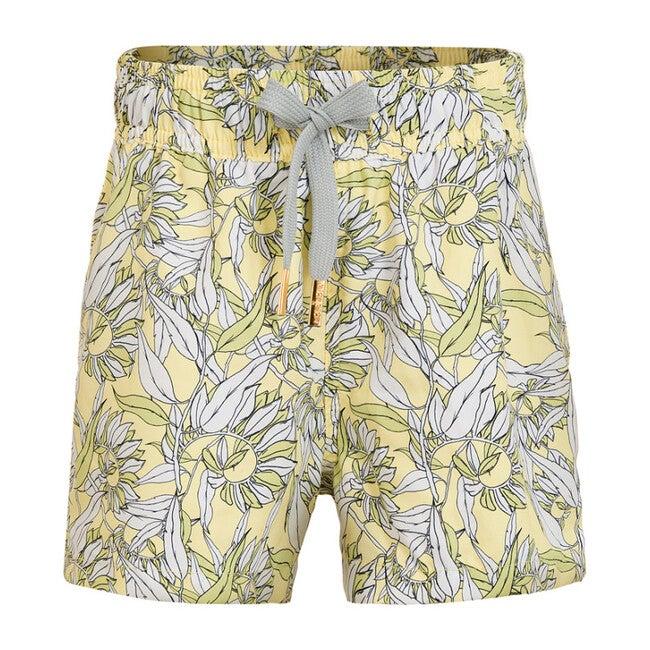 Swim Trunks, Le Fleurs Citron Lime
