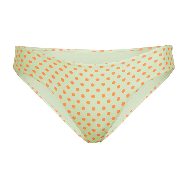 Women's Anabel Bikini Bottom, Le Fleurs Mint & Orange