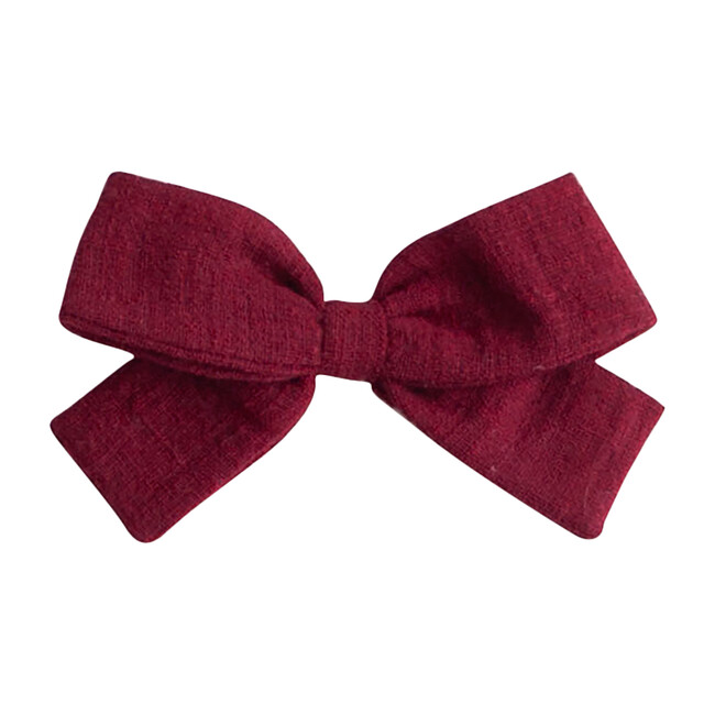 Big Bow, Marsala Linen