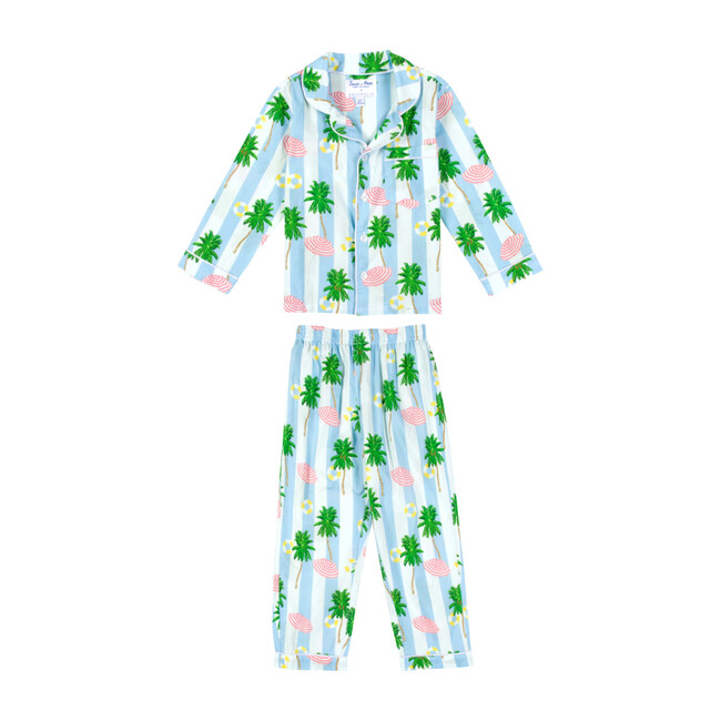 x Gray Malin Kids Long Set, Beach Blue