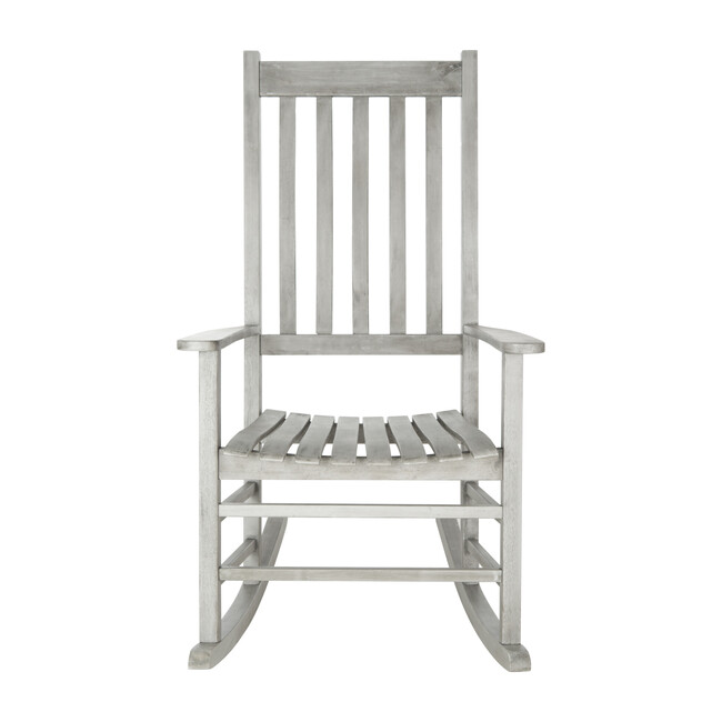 Shasta Rocking Chair, Greywashed Acacia