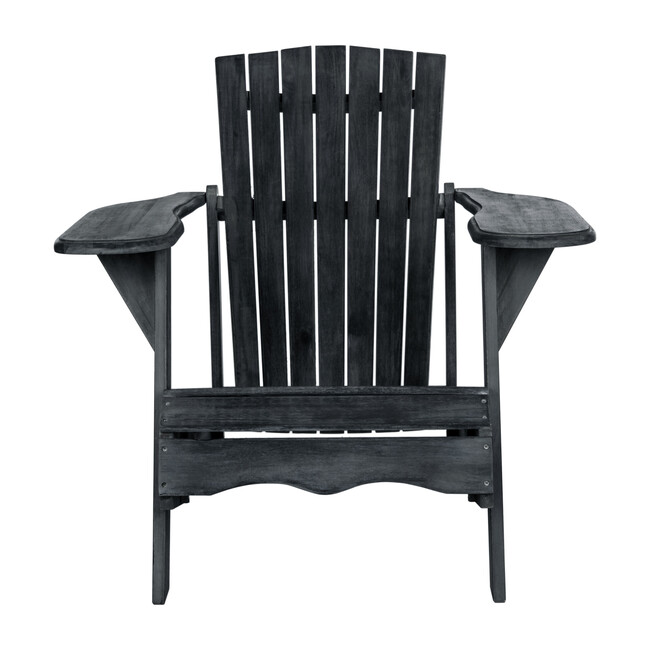 Mopani Adirondack Outdoor Chair, Slate Grey