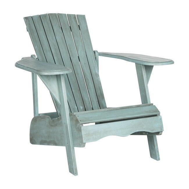 Mopani Adirondack Outdoor Chair, Beach House Blue