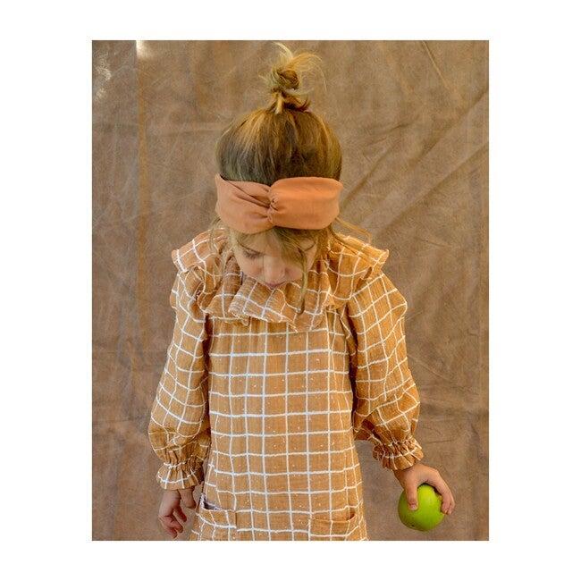 Belen Headband, Rust Tencel