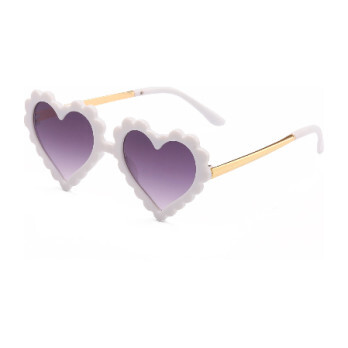 Heartbreaker Sunglasses, White