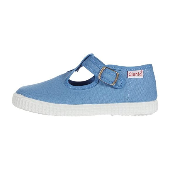 T-Strap, French Blue