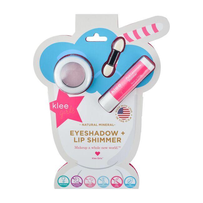 Bubble Gum Shimmer Natural Eyeshadow + Pink Lemonade Lip Shimmer Set