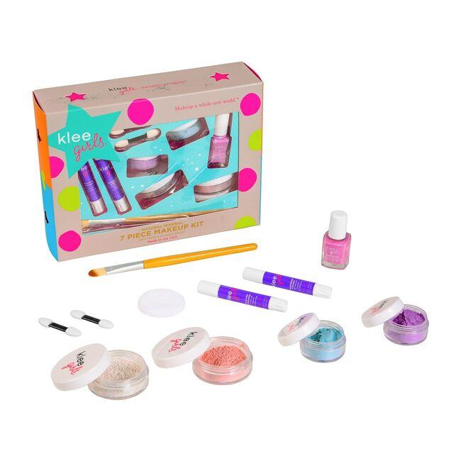 Up and Away 7-Piece Starter Mineral Makeup Kit with Bonus Bamboo Brush