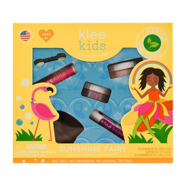 Sunshine Fairy 4-PC Natural Play Makeup Kit with Loose Powder Makeup