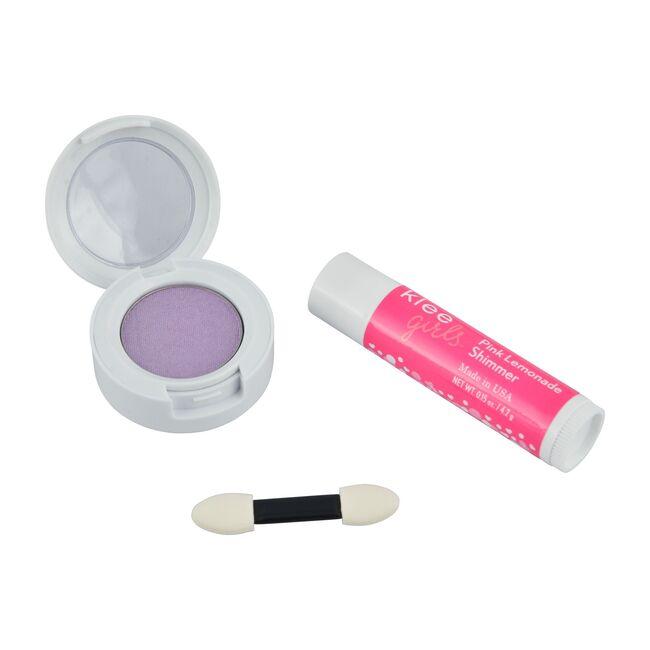 Fairy Purple Twinkle Natural Eyeshadow + Pink Lemonade Lip Shimmer