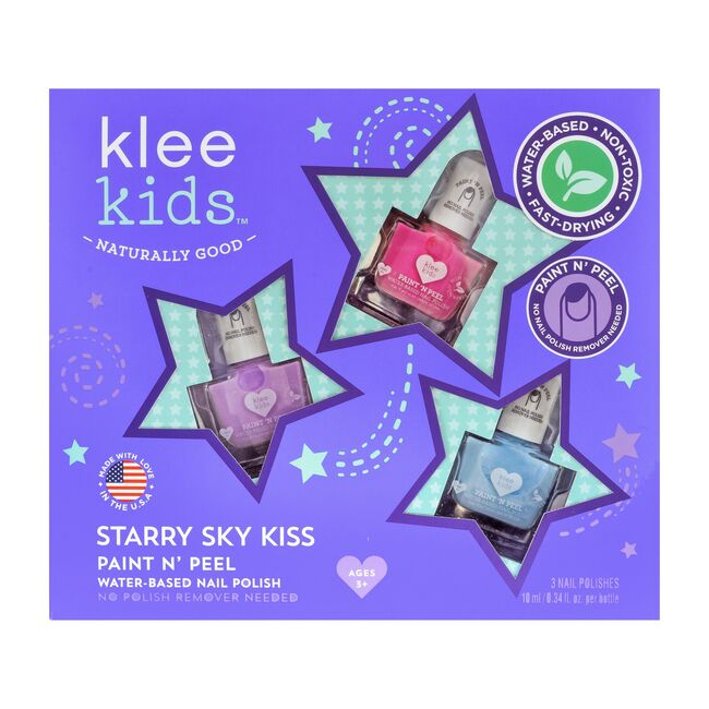 Starry Sky Kiss 3-Piece Water-Based Nail Polish Set