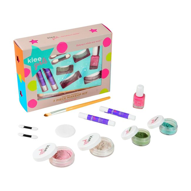 Far and Wide 7-Piece Starter Mineral Makeup Kit with Bonus Bamboo Brush