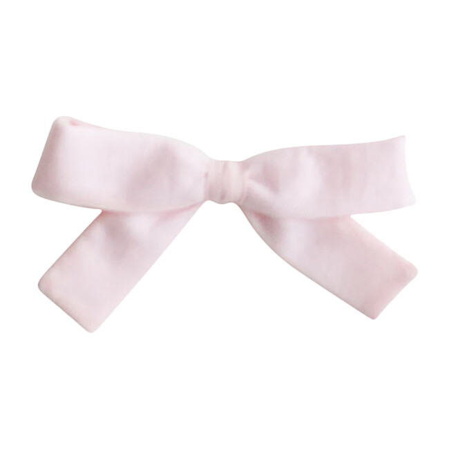 Small Bow Clip, Pink
