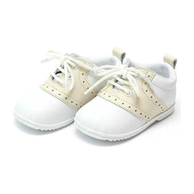Baby Austin Saddle Oxford Shoe, Beige