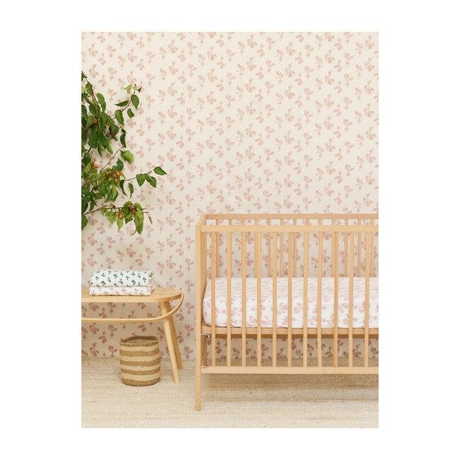 Radish Crib Sheet, Mauve