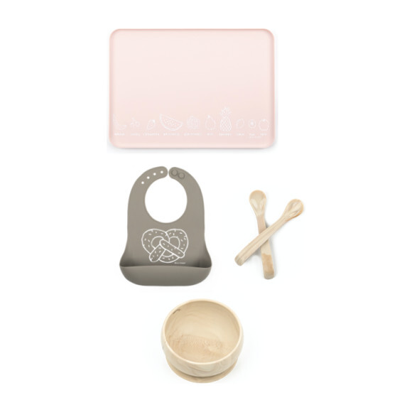Mealtime Essentials Kit, Wood