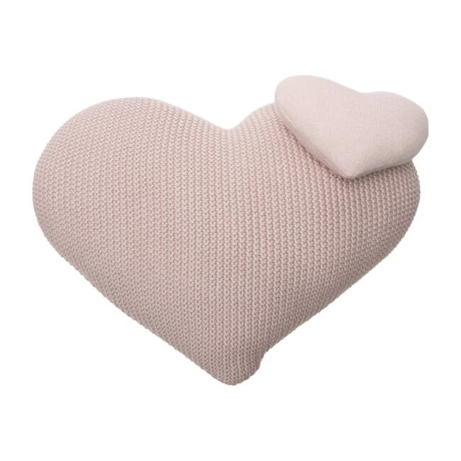 Knitted Cushion, Love