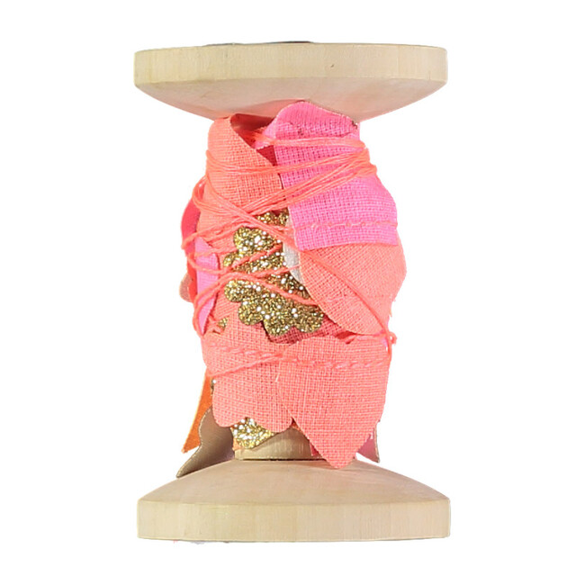 Pink Garland On A Spool