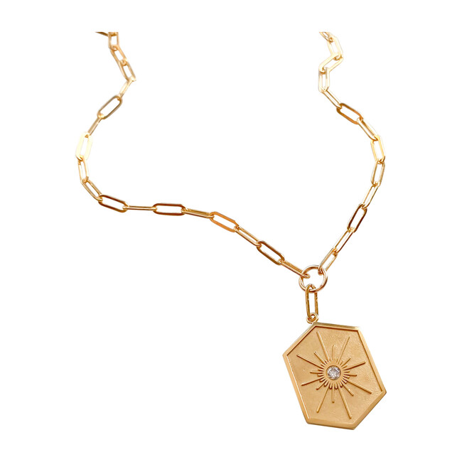 Guiding Star Link Necklace