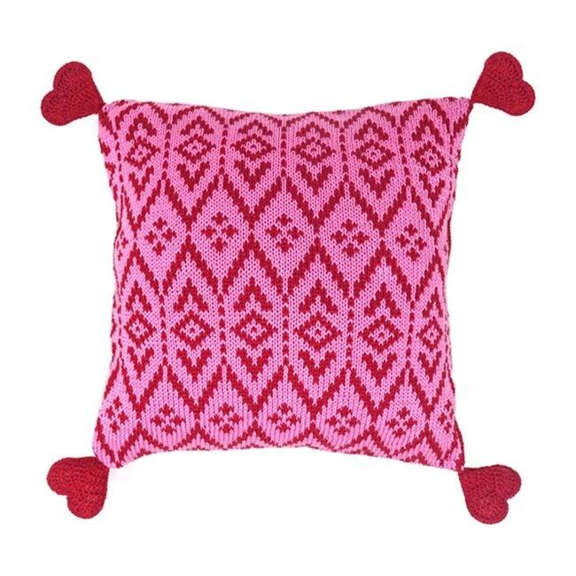 Heart Tassel Pillow