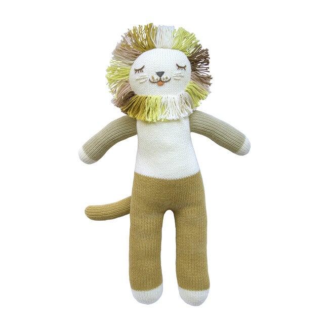 Lionel the Lion Knit Doll