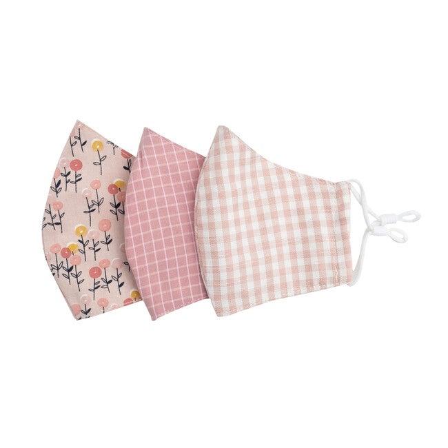 Kids Lollipop Flower Mask Bundle, Pink Multi