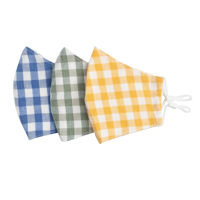 Gingham Mask Bundle, Multi