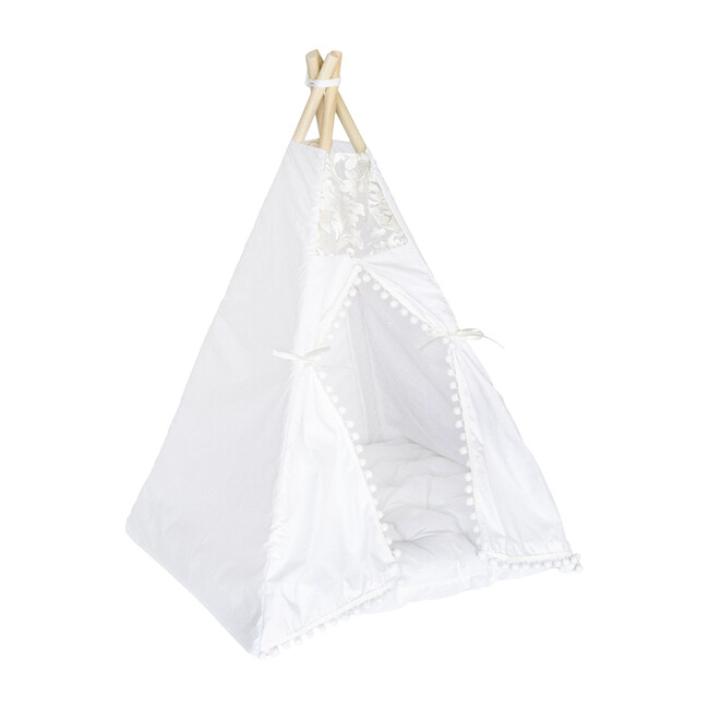 Evelyn Itty Bitty Play Tent, White