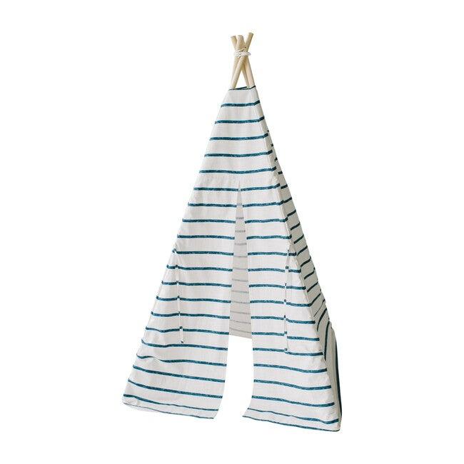 Isaac Play Tent, Blue Stripe