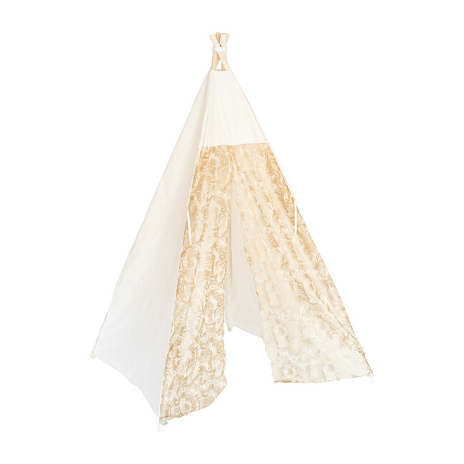 Elaine Play Tent, Gold Lace - Teepees - 1