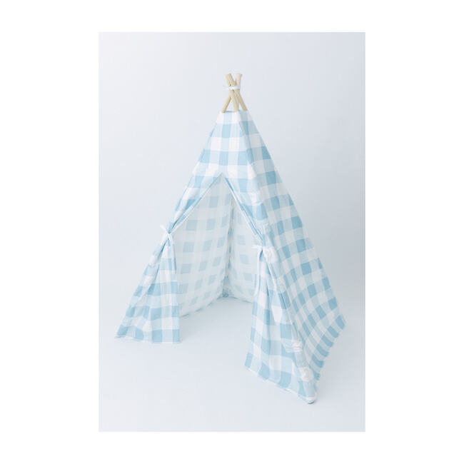 Charles Play Tent, Blue Gingham
