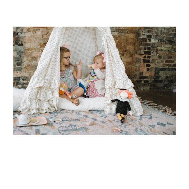 Colette Play Tent, Cream Swiss Dot