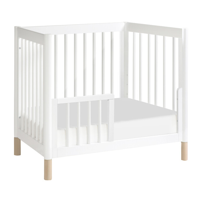 Gelato Mini Toddler Bed Conversion Kit, White