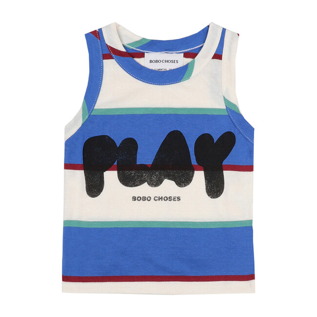 Play Stripes Tank Top