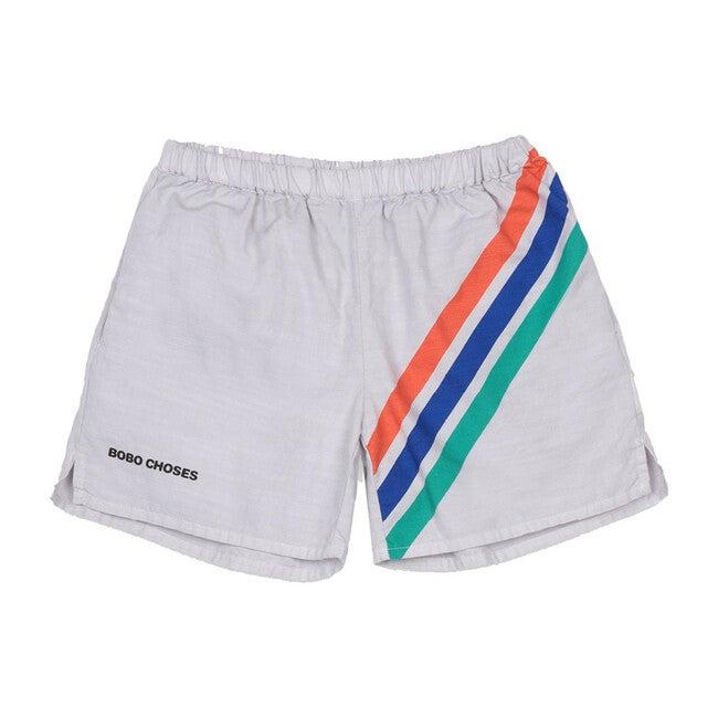 Crosswise Striped Shorts