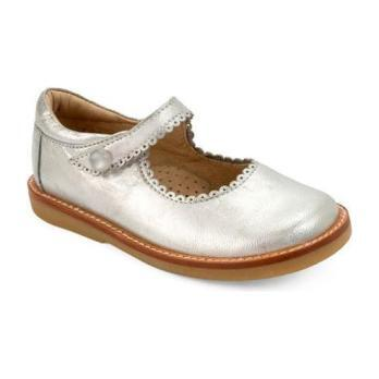 Toddler Mary Jane, Silver - Crib Shoes - 1