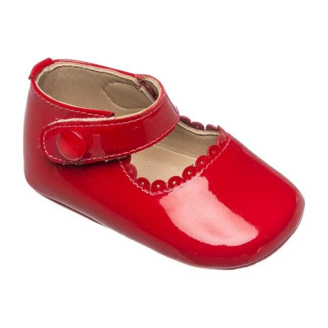 Baby Mary Jane, Patent Red
