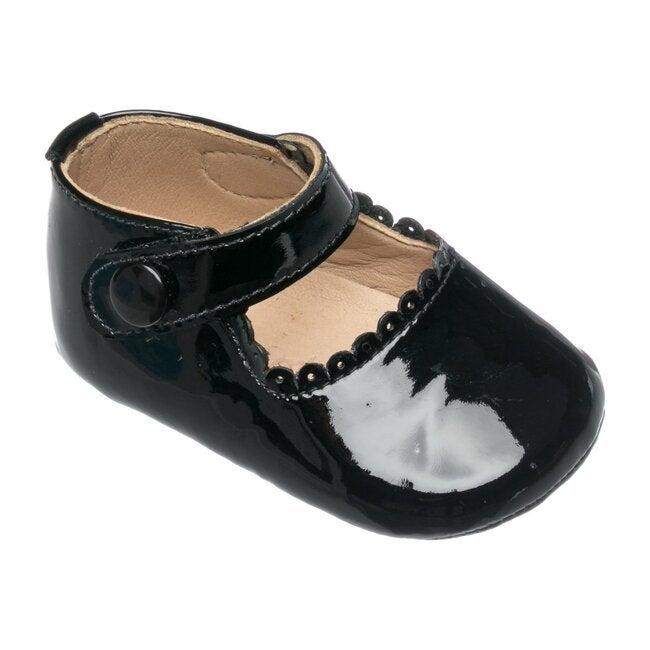 Baby Mary Jane, Patent Black