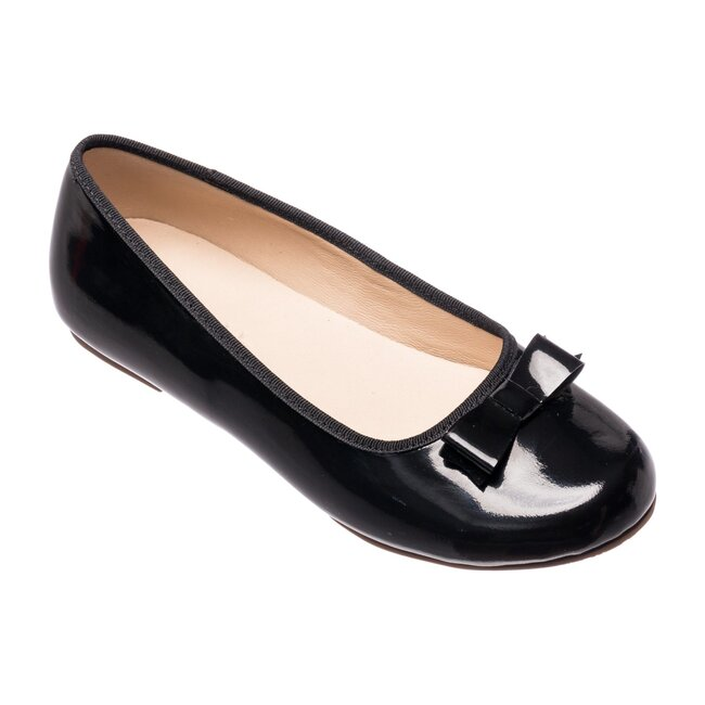 Camille Flats, Patent Black