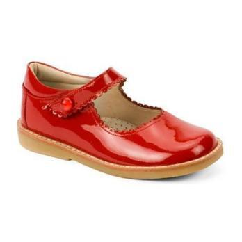 Mary Jane, Patent Red - Mary Janes - 1