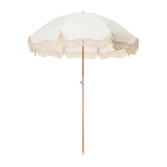 Premium Beach Umbrella, Antique White