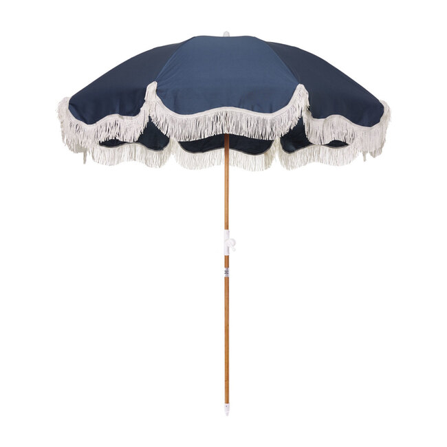 Holiday Lightweight Beach Umbrella, Atlantic Blue