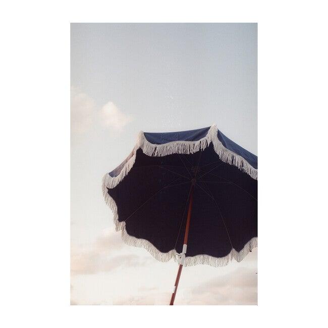 Holiday Lightweight Beach Umbrella, Atlantic Blue