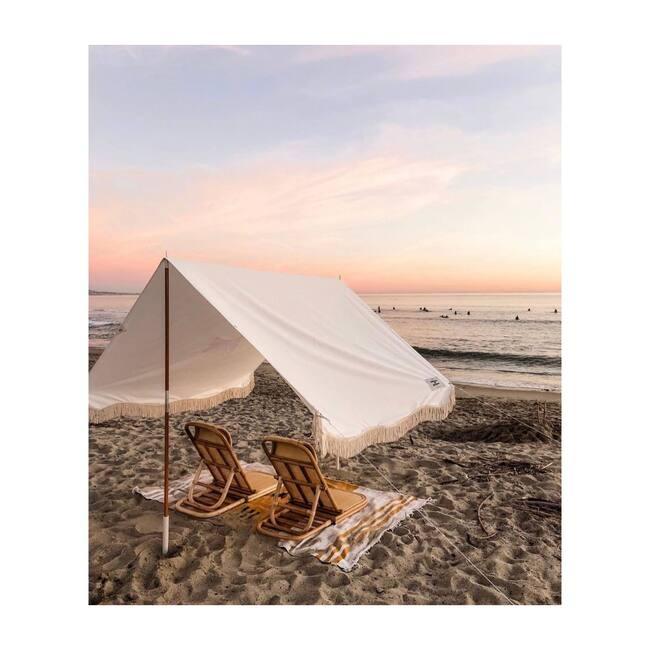 Premium Beach Tent, Antique White