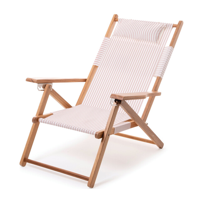 The Tommy Chair, Lauren's Pink Stripe - Outdoor Home - 1