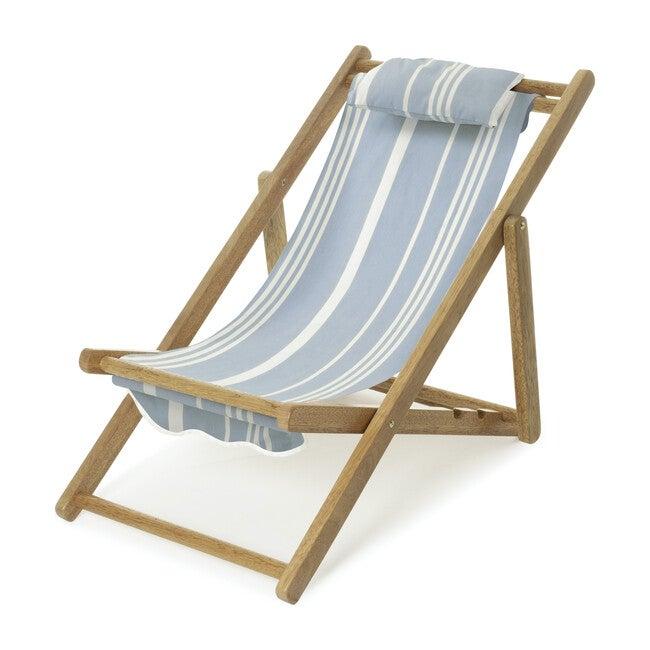 Mini Sling Chair, Vintage Blue Stripe