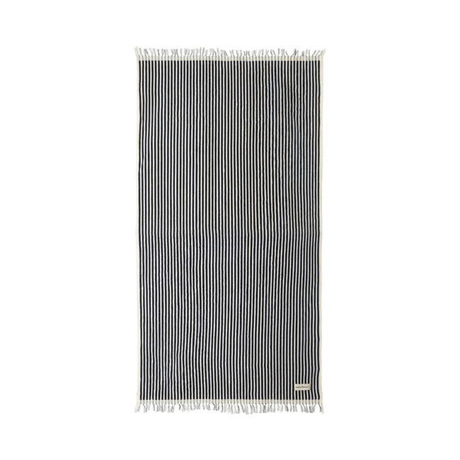 The Beach Towel, Lauren's Navy Stripe