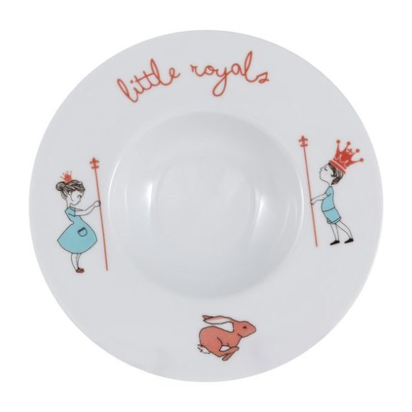 Hand-Painted Calisson Little Royals Plate