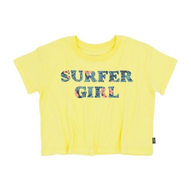 Surfer Girl Cropped Tee